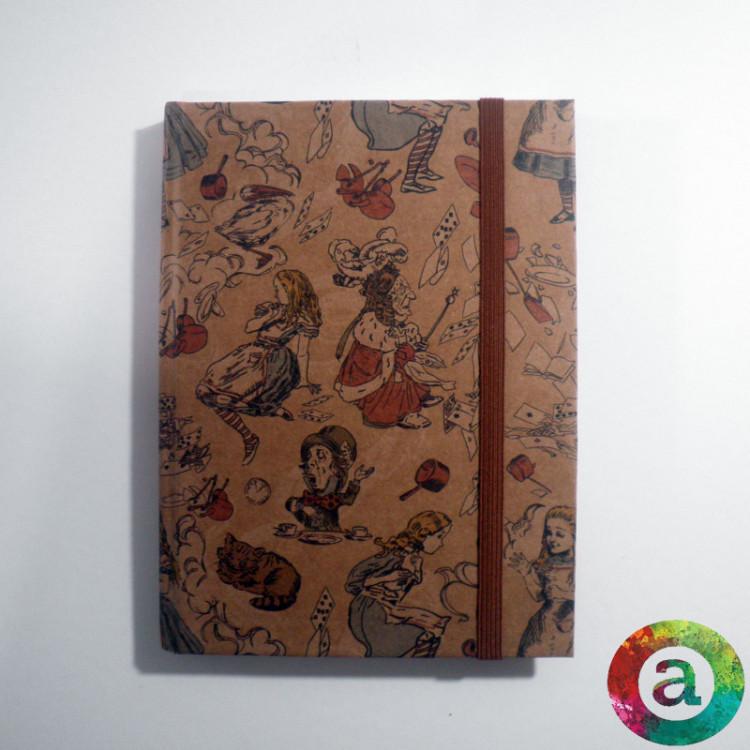 CADERNO BROCHURA COM  PAUTA - ALICE